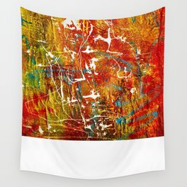 Red Abyss Wall Tapestry