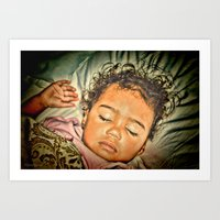 Sleeping Angel Art Print