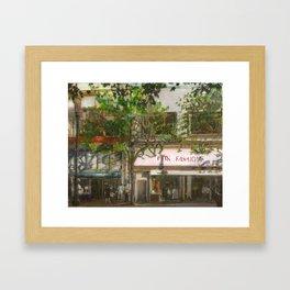 Market Street, San Francisco  Framed Art Print