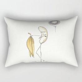 Banana Strip Rectangular Pillow