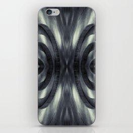 Stone Face Illusion of Fall iPhone Skin