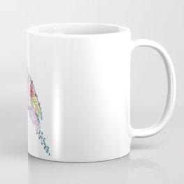 Flower Bird Coffee Mug