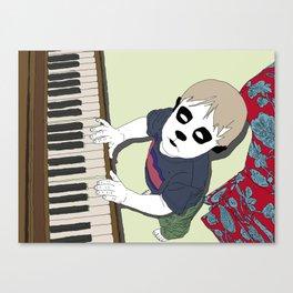 The Pet Piano Canvas Print