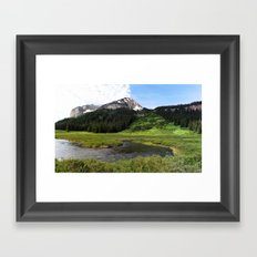 Crested Butte Framed Art Print