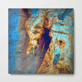 Tree Bark Abstract # 25 Metal Print