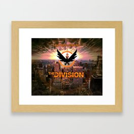 The Division - Save what remains. Framed Art Print