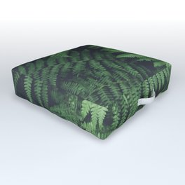 Fern Bush Nature Photography | Botanical | Plants Outdoor Floor Cushion