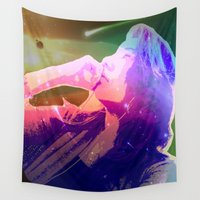 cosmic Wall Tapestries featuring Cosmic by Monica Selva