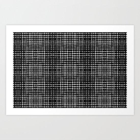 Deelder Black Art Print