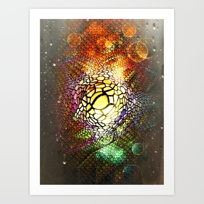 Big Dreams Colors 7 by Nico Bielow Art Print