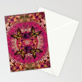 Victoria Mandala Collage Stationery Cards
