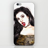 charli xcx iPhone & iPod Skins featuring CHARLI XCX II: SUCKER by Share_Shop