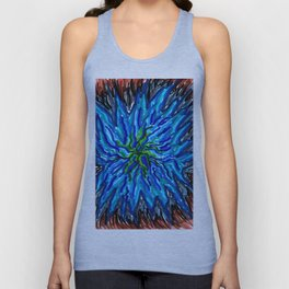 Water Anenome Unisex Tank Top
