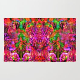 Twins In Psychedelia Rug