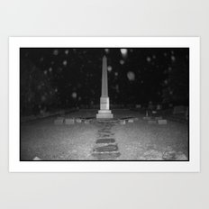 Dramatic Obelisk Art Print