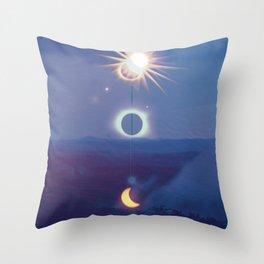 Wilderness Eclipse Throw Pillow