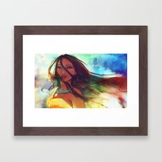 The Wind... Framed Art Print