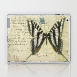 Zebra Butterfly Laptop & iPad Skin