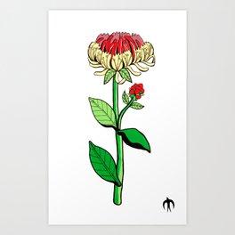 Madre Flower Art Print