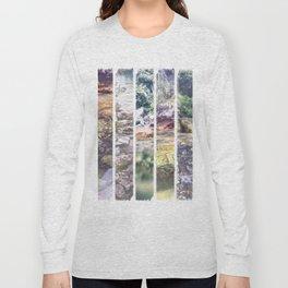 Beach Stripes Long Sleeve T-shirt