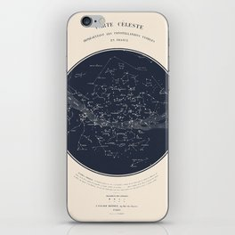 Carte Celeste iPhone Skin