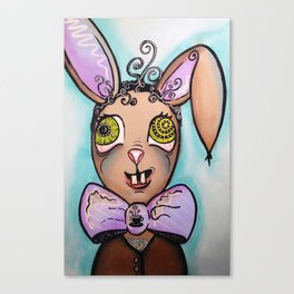 The Mad Hare ~ It's a TEA PARTY Canvas Print