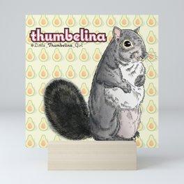 Little Thumbelina Girl: meerkat monday Mini Art Print