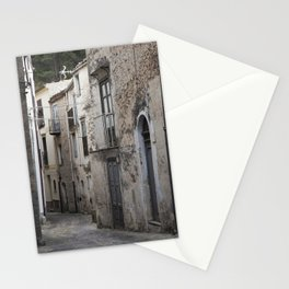 Sicilian Alley in Caltabellotta Stationery Cards