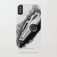 mercedes iPhone & iPod Cases featuring Mercedes-Benz SLR McLaren 722 by an.artwrok