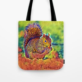 AnimalColor_Squirrel_004_by_JAMColors Tote Bag