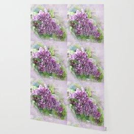 Soft Lilac Wallpaper