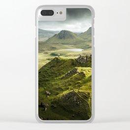 Isle of Skye, Scotland Clear iPhone Case