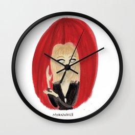 Laura Palmer / Twin Peaks by Ashley Nada Wall Clock