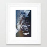 san francisco Framed Art Prints featuring San Francisco by Subcon