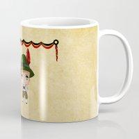german Mugs featuring German Chibis by artwaste