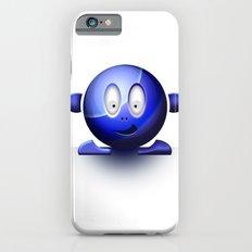 Emoticon Blue Slim Case iPhone 6s