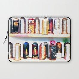 Spray Cans - United Kingdom Laptop Sleeve