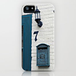 Letterbox at No. 7 iPhone Case