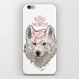 The King in The North iPhone Skin
