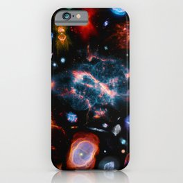 Nearest galaxies iPhone Case