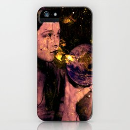 Time stands still iPhone Case