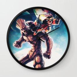 Galactic Battle Wall Clock