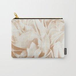 Cafe Au Lait Dream #2 #rose #floral #decor #art #society6 Carry-All Pouch