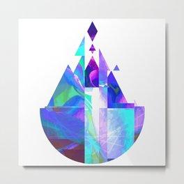 Purple Castle Metal Print
