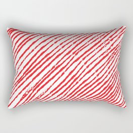 Candy Cane (The raw version) - Christmas Illustration Rectangular Pillow