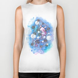 The strings and skeins universe Biker Tank
