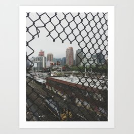 Glimpse of New York Art Print