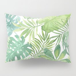 Tropical Branches Pattern 07 Pillow Sham
