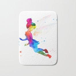 Tinker Bell, colorful Bath Mat