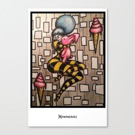 Love and Bunnies Canvas Print